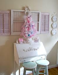olivia u0027s romantic home my shabby chic pink christmas home tour