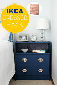 the 25 coolest ikea hacks we ve ever seen portable kitchen must try dresser hack with rast ikea dressers