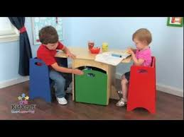 Kidkraft Storage Bench Kidkraft Table With Primary Benches Set 26161 Space Conscious