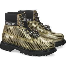 womens caterpillar boots uk top caterpillar cat colorado chic boot gold boots