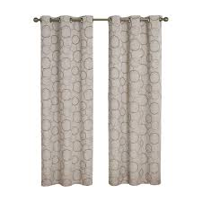 Home Depot Blackout Shades Eclipse Meridian Blackout Linen Curtain Panel 84 In Length