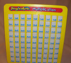 magic math multiplication press n see board times table learning