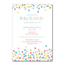 what is a sprinkle shower custom sprinkle shower or party invitation 5x7 by greenidesign