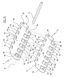 patent ep2055356b1 a device for a rock climbing wall and a