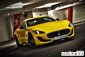 maserati v10 2013 maserati granturismo sport motoring middle east car news