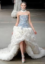 best wedding dresses 2011 mcqueen fall winter 2011 collection mcqueen