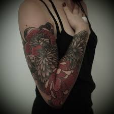arm sleeve tattoo for by guy le tattooer tattoomagz