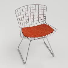 Bertoia Dining Chair 3d Bertoia Side Chair High Quality 3d Models