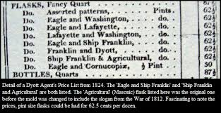 His And Her Flasks The Flask Maker Frigate And The Freemason Mystery 1780