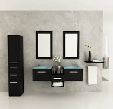 Bathroom Vanity Bowl by Bathroom Vanity Remodel Ideas Brown Wood Modern Double Sink White