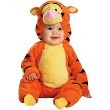 Infant Halloween Costumes Winnie Pooh Tigger Deluxe Plush Infant Halloween Costume