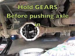 2003 dodge durango rear differential 1998 rear differential replace fluid leak change dodge ram 1500