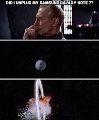 Galaxy Note Meme - samsung galaxy note 7 explosion 30 funniest photos http