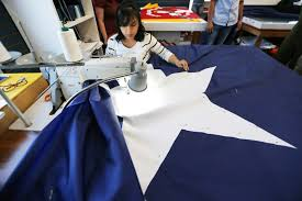 Colonial Flag Company Group Begins Making What It Hopes Will Be Largest American Flag