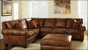 High End Leather Sectional Sofa Thomasville Sectional Sofa Leather Home Design Ideas Thomasville