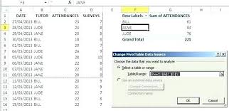 two way data table excel two way table in excel create data table in excel table one way data