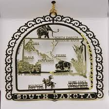 50 state collectible ornaments wall store
