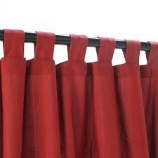 Button Top Curtains Red Curtain With Valance Decorate The House With Beautiful Curtains