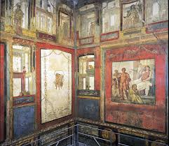 History Of Interior Design Styles Roman Wall Painting Styles Article Roman Khan Academy
