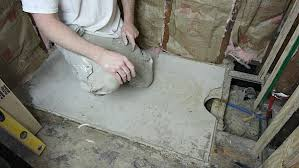 How To Level A Bathroom Floor Bathtub Replacement In Old Bathroom Step By Step