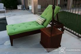 Diy Chaise Lounge White Diy Outdoor Chaise Lounge Diy Projects
