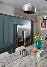 How To Design Kitchen Lighting How To Design A Kitchen Around An American Fridge Freezer New