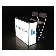 led light box trade show counter