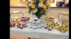 cupcake ideas garden themed wedding shower youtube