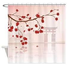 Cherry Blossom Curtains with Cherry Blossom Shower Curtains Cherry Blossom Fabric Shower