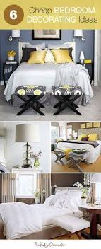 Best  Cheap Bedroom Decor Ideas On Pinterest Cheap Bedroom - Cheap decor ideas for bedroom