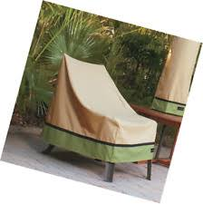 Patio Chair Cover High Back Chair Covers Ebay