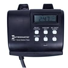 Outdoor Daily Photocell Timer 1 by Intermatic Hb880r 15 Amp Outdoor Digital Timer For Control Of