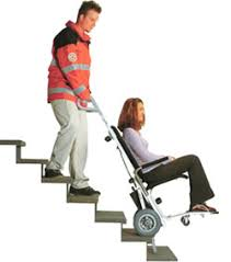 c max the push wheelchair with stair climbing