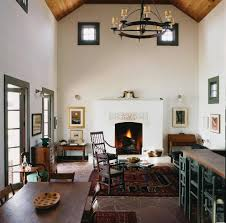 stucco fireplace remodel living room farmhouse with wood posts
