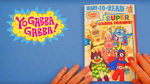 yo gabba gabba 105 super gabba friends