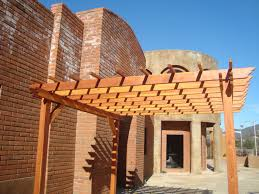 Pergola Rafter End Designs by Best Redwood Pergola