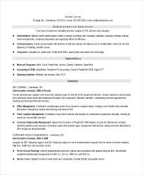 Resume Samples For Administrative Assistant by Senior Administrative Assistant Resume U2013 10 Free Word Pdf