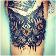 cat tattoo designs ideas 13