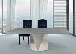 Rectangular Table L 4116 L Freedom Steel Asm Stripe Marble Thingz Contemporary