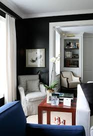Black Interior Paint Dark Paint And Wallpaper How To Decorate With Them Travis