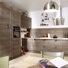 cuisine en chene blanchi meuble de cuisine décor chêne blanchi delinia karrey leroy merlin