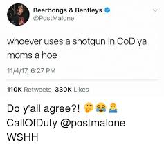 What Font Do Memes Use - beerbongs bentleys whoever uses a shotgun in cod ya moms a hoe