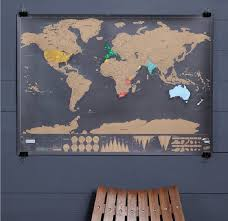 World Map Push Pin Board by Deluxe Scratch Off U0027push Pin World Map Bundle By