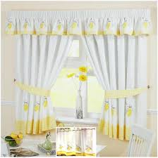 yellow plaid curtains brilliant blue and yellow kitchen curtains