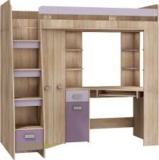 Bunk Beds With Wardrobe High Sleeper Bunk Bed Entresole All In One Left Side Stairs