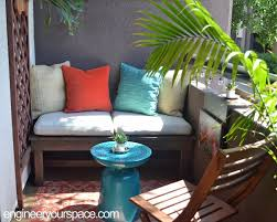 Diy Patio Bench by Diy Outdoor Lounging Bench Smart Diy Solutions For Renters