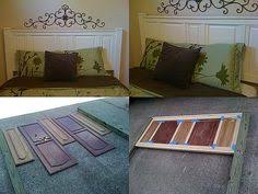 Headboard From Old Door by Make A Simple Headboard From Cabinet Doors Folk Twins And Doors
