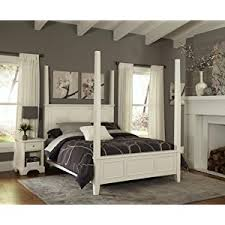 Naples Bedroom Furniture by Amazon Com Home Styles 5530 500 Naples Queen Bed White Finish