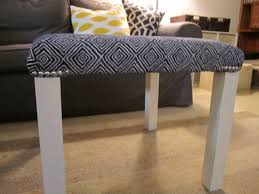 lack end table hack upholstered hack a lack with nailhead trim ikea hackers ikea