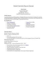 high student resume for internship cover letter how to write student resume for internship job